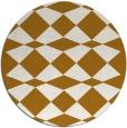 rug #298940 | round check rug