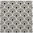 rug #299309 | square white retro rug