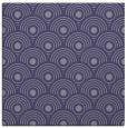 rug #299393 | square blue-violet retro rug
