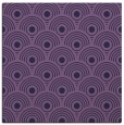 rug #299401 | square purple circles rug