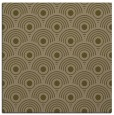 rug #299425 | square mid-brown circles rug
