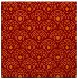 rug #299493   square orange circles rug