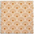 rug #299497   square orange circles rug