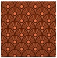 rug #299505 | square orange circles rug