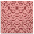 rug #299521 | square pink circles rug