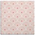 rug #299525 | square white retro rug