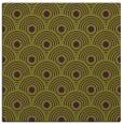 rug #299533 | square green retro rug