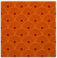 rug #299549 | square orange retro rug