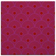 rug #299557 | square red circles rug