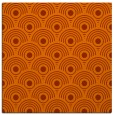 rug #299561 | square red-orange circles rug