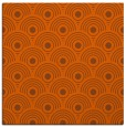 rug #299569 | square red-orange circles rug