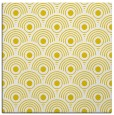 rug #299605 | square yellow retro rug
