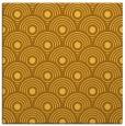rug #299609 | square yellow circles rug