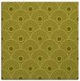 rug #299625 | square light-green circles rug