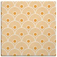 rug #299653 | square light-orange retro rug