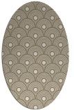 rug #299659 | oval circles rug