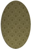 rug #299989 | oval light-green rug