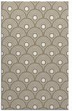 rug #300009 |  white circles rug