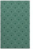 rug #300065 |  blue-green circles rug