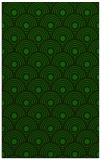 rug #300077    green circles rug