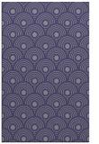 rug #300097    blue-violet circles rug