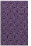 rug #300105 |  purple circles rug