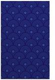 rug #300113 |  blue-violet circles rug