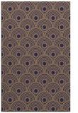 rug #300117 |  blue-violet circles rug