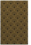 rug #300125 |  mid-brown circles rug