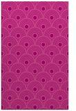 rug #300217 |  pink circles rug