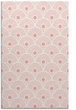 rug #300229 |  pink circles rug