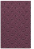 rug #300233 |  purple circles rug