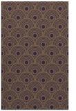 rug #300241 |  mid-brown retro rug