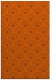 rug #300273 |  red-orange circles rug