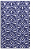rug #300289 |  blue circles rug