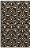 rug #300305 |  brown circles rug