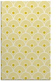 rug #300309 |  yellow circles rug