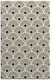 rug #300317 |  black circles rug