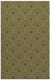 rug #300341    light-green circles rug