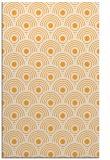 rug #300357    light-orange retro rug