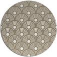 rug #300361 | round beige retro rug