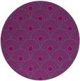 rug #300392 | round retro rug