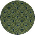 rug #300397 | round green circles rug