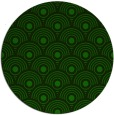 rug #300429 | round green circles rug
