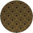 rug #300477   round black circles rug