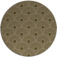 rug #300481 | round brown rug