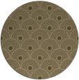 rug #300481 | round mid-brown circles rug
