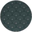 rug #300489 | round green circles rug