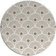 rug #300501 | round mid-brown popular rug