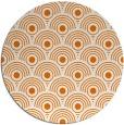 rug #300553   round orange circles rug